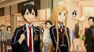 Asuna & Kirito Sword Art Online Ordinal Scale (4)