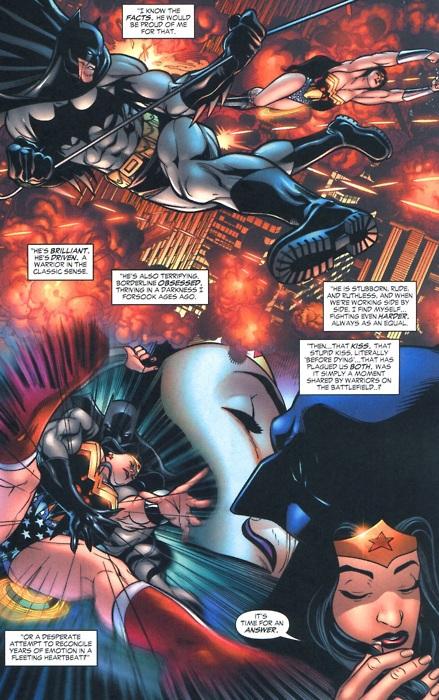 Wonder woman dating superman