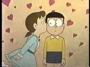 Shizuka Kisses Nobita 4