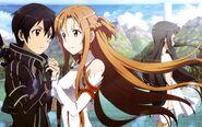 Asuna & Kirito Poster (4)