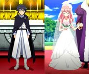 Saito & Louise's Wedding Outfits S4E12