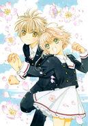 Sakura and Syaoran - Clear Card Manga