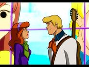 Fred falling in love with Daphne