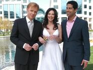 Horatio, Marisol & Eric Wedding Photo