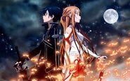 Asuna & Kirito Promotional Pic (5)