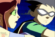 Teen Titans Robin and Starfire 14040480
