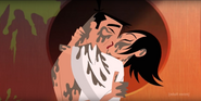 Jack and ashi's first kiss (episode 8 to 9)