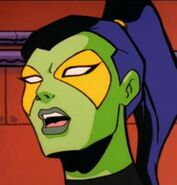 Gamora Silver Surfer cartoon