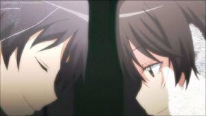 Korosensei and Aguri