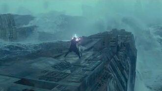 Rey Vs Kylo On The Death Star (Part 1) HD Star Wars Rise Of Skywalker