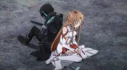 Asuna & Kirito S1E14 (1)
