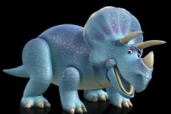 Trixie the Triceratops