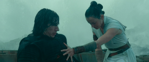Rey heals Kylo