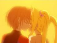 Lucia & Kaito Kiss S2E32