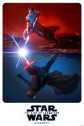 Kylo and Rey rise of skywalker poster
