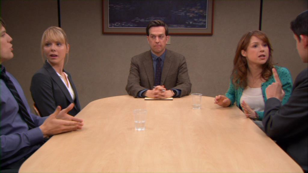 who is andy dating on the office
