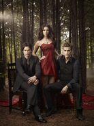 Elena, Damon & Stefan Love Triangle (3)
