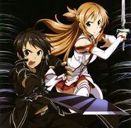 Asuna & Kirito Poster (7)