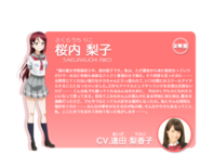 Sunshine!! character intro - Sakurauchi Riko
