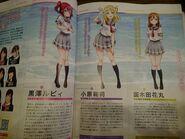 Sunshine new characters in denkeki mag