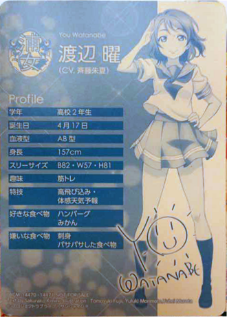 Profile you