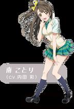 Love Live! infobox - Minami Kotori