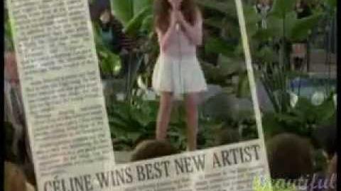 Celine Film - Jodelle Ferland - Singing for crowds