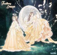 Feathery Dream Unposed