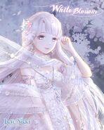 White Blossom Night close up 1