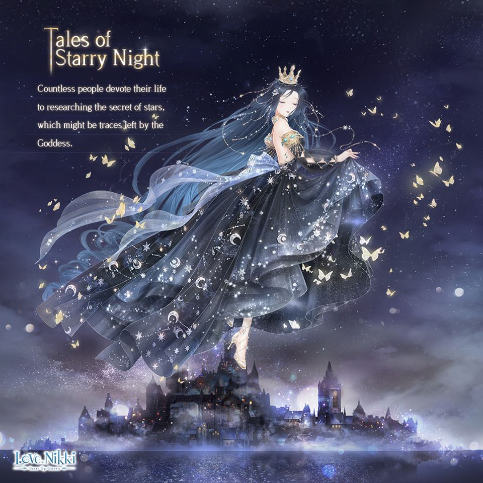 Tales Of Starry Night Love Nikki Dress Up Queen Wiki