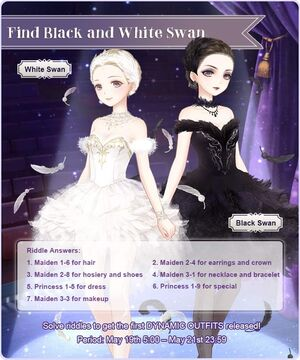 Black and White Swan Event