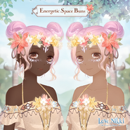 Energetic Space Buns 1