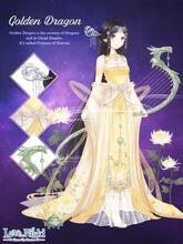 Golden Dragon of Neck