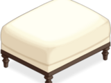 Cream Sofa Stool