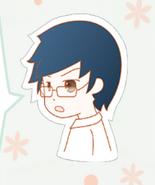 Blue-haired boy in Nikki1 3