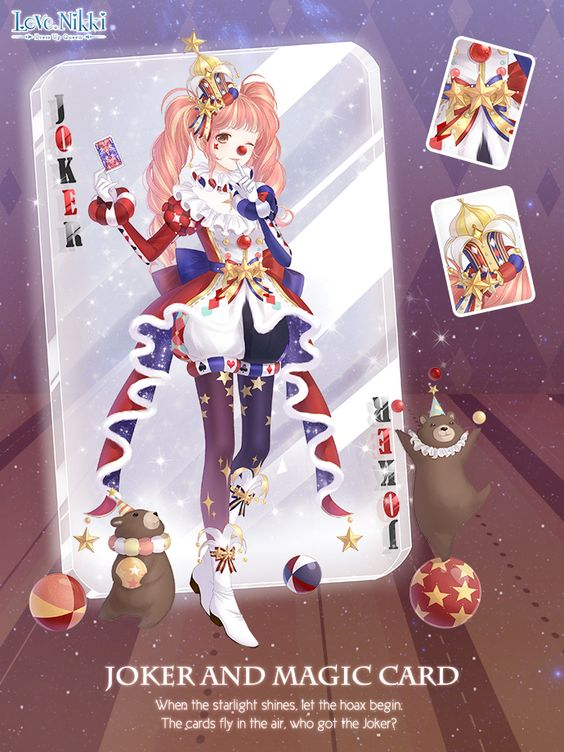 Joker And Magic Card Love Nikki Dress Up Queen Wiki
