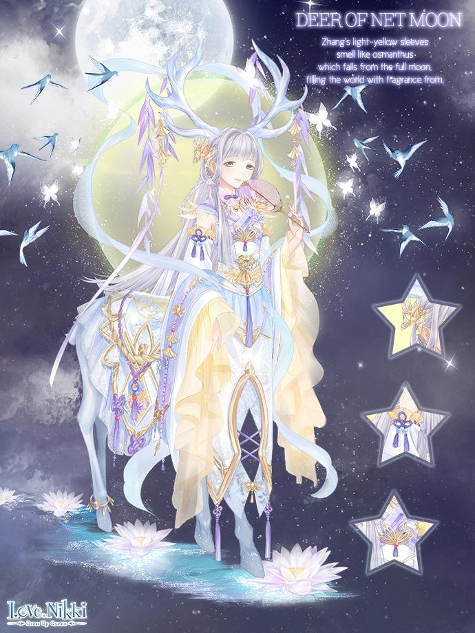 Deer Of Net Moon Love Nikki Dress Up Queen Wiki Fandom