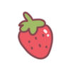 Sticker Strawberry