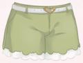 Decorative Shorts-Green
