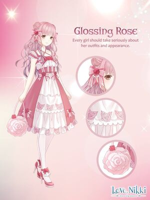Glossing Rose