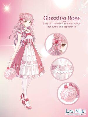 Glossing Rose
