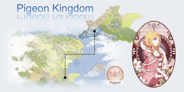 Pigeon Kingdom Map