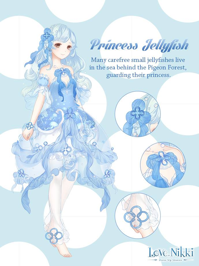 Princess Jellyfish Love Nikki Dress Up Queen Wiki