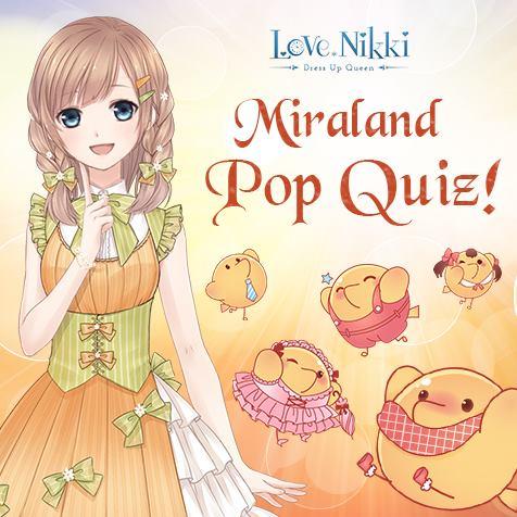 Miraland Quiz | Love Nikki-Dress UP Queen! Wiki | FANDOM powered by