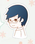 Blue-haired boy in Nikki1 1