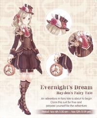Evernight's Dream - Hayden's Fairy Tale