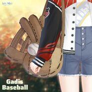 Baseball Girl close up 2