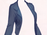 Short coat-Blue