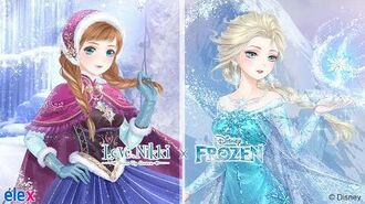 Love Nikki X Disney Frozen Crossover