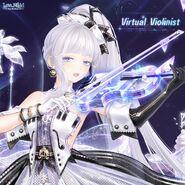 Virtual Violinist Close Up 1
